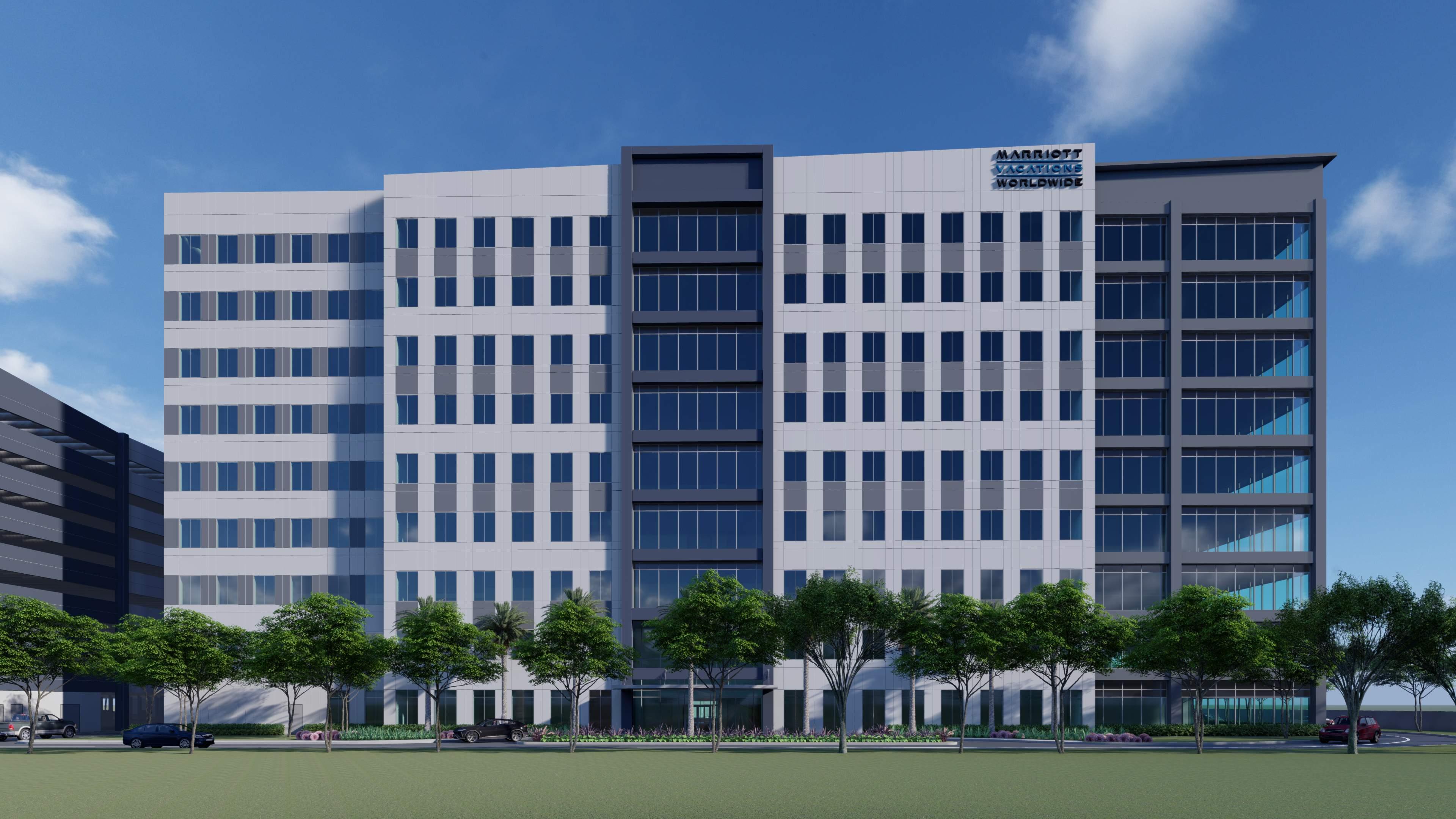 Marriott Vacations Worldwide Corporation building rendering