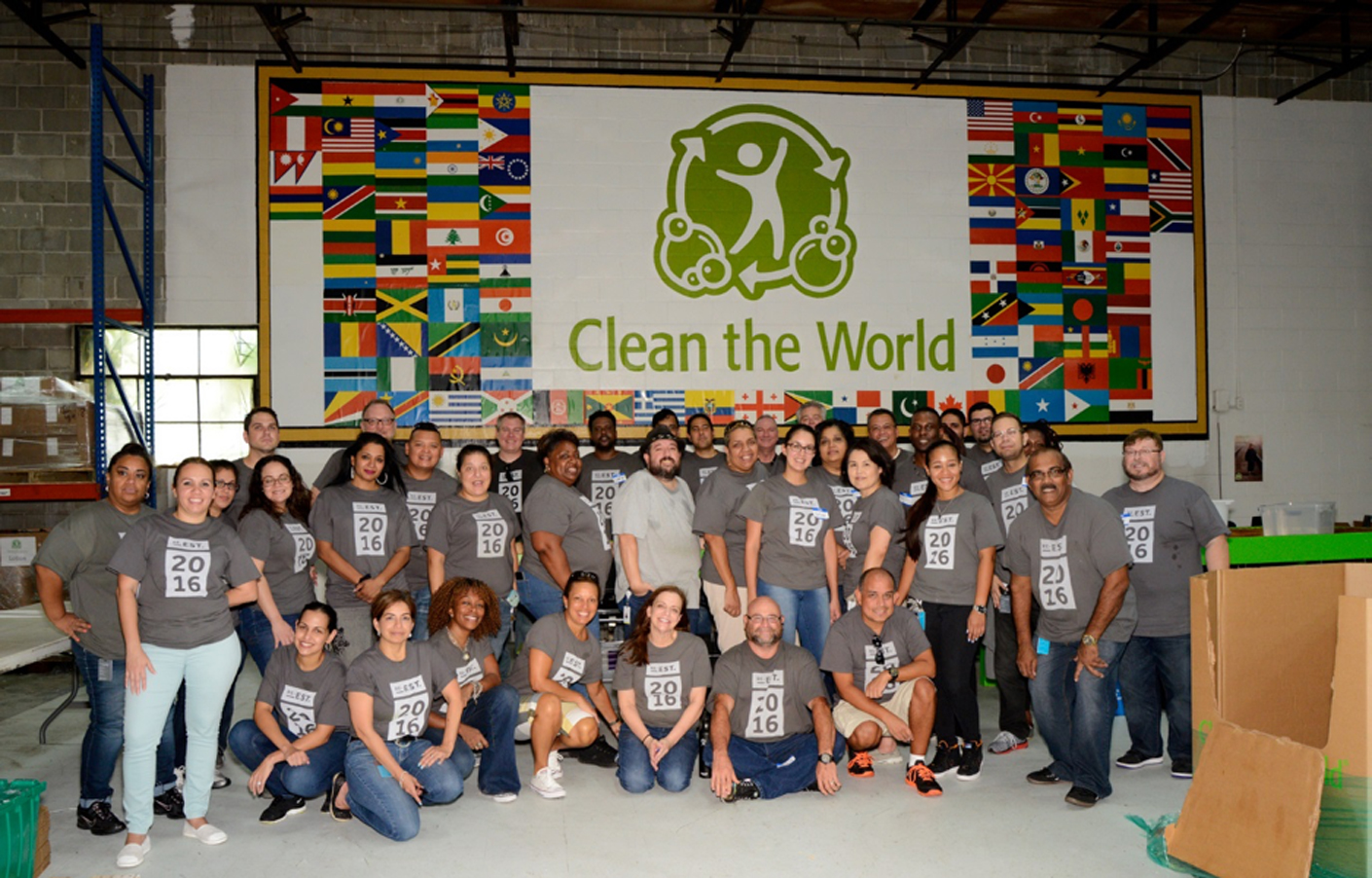 Clean the World Group Photo